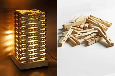 Reciclar con pinzas