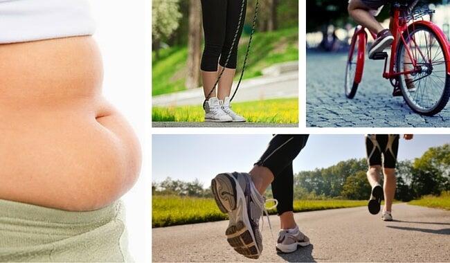 Como hacer que han adelgazado el vientre y los lados