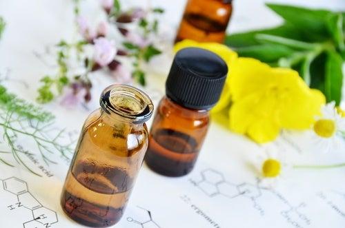 Massagem com óleo de prímula