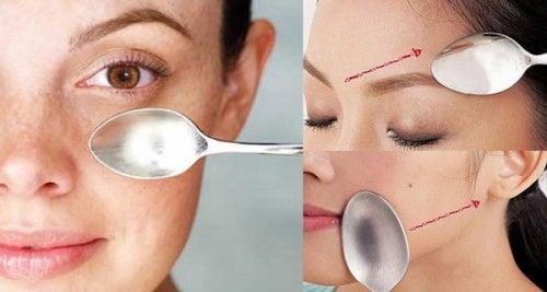 ¿Conoces el masaje facial con una cuchara? ¡Descubre sus increíbles efectos!