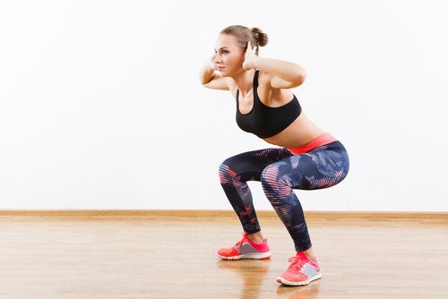 Squat jumps 15 minute routine