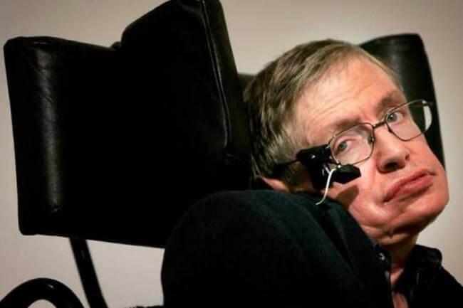 Hermoso mensaje de Stephen Hawking a las personas