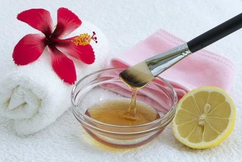 Tratamiento de limón para la piel