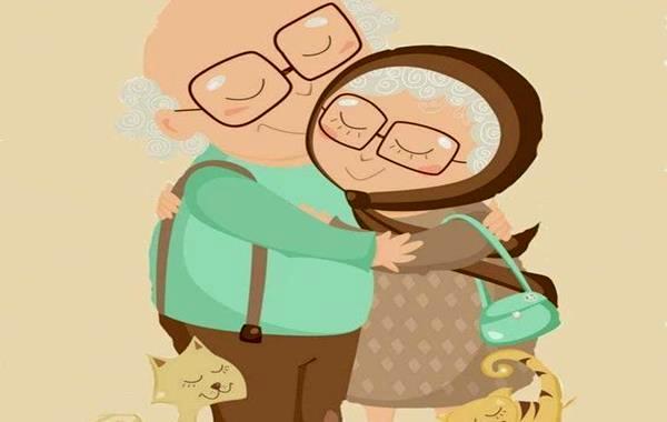 Amores que no saben de años, arrugas y tiempo