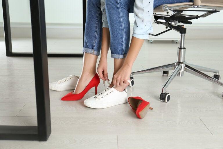 5 beneficios que obtienes cuando dejas de usar tacones