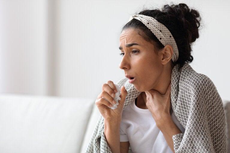 Cómo reducir la tos con flema