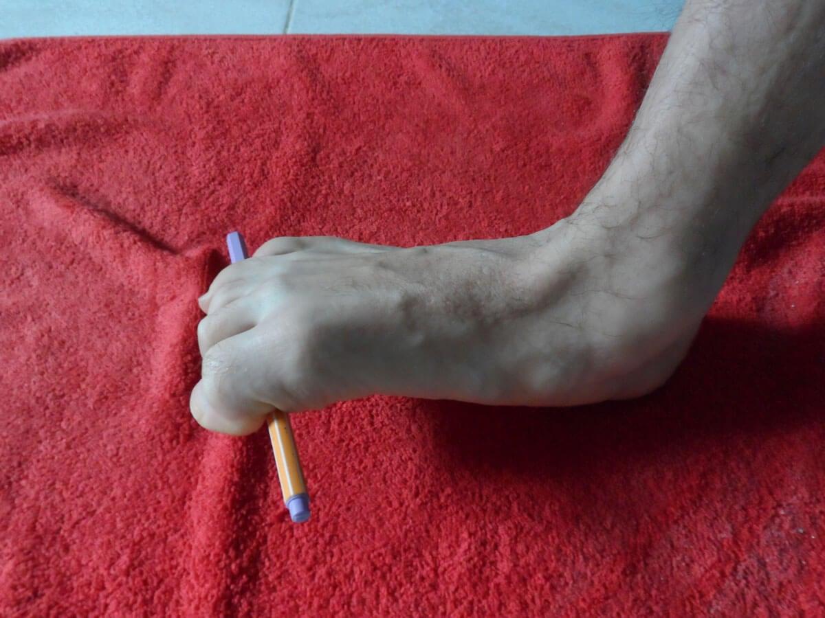 ejercicio levantando lápiz