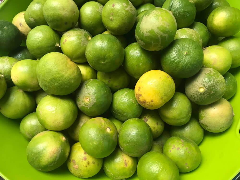 Limón para quitar las manchas de sudor