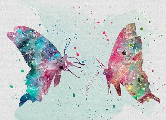mariposas representando la libertad de lo que siento