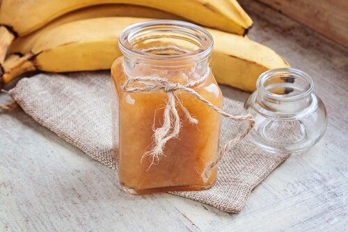 Receta de mermelada de plátano y jengibre