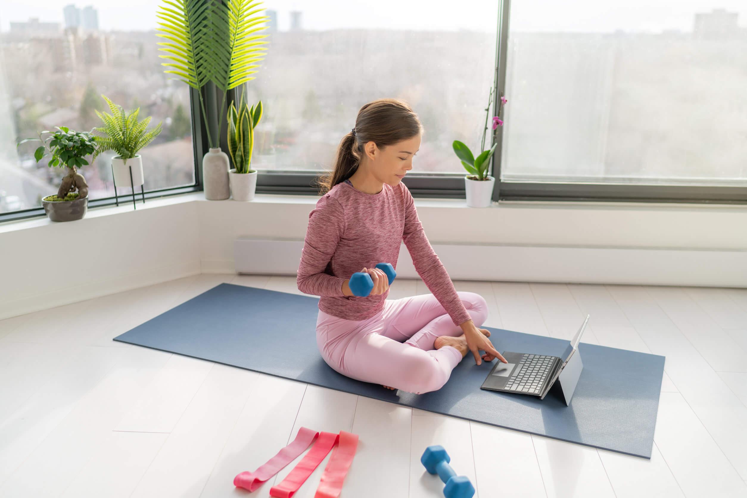 Los ejercicios localizados son perfectos para conservar unos senos bonitos