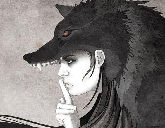 Resultado de imagen de caperucita y el lobo feroz pinterest gifs