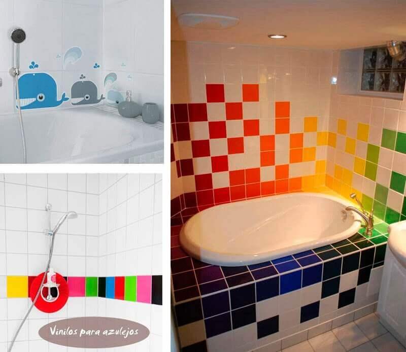 13 ideas geniales para decorar las paredes de tu baño