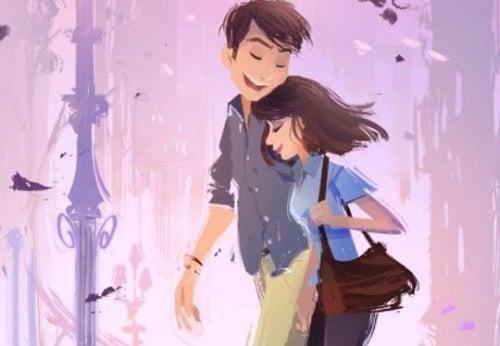 pareja encontrar amor