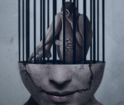 persona encarcelada en su mente