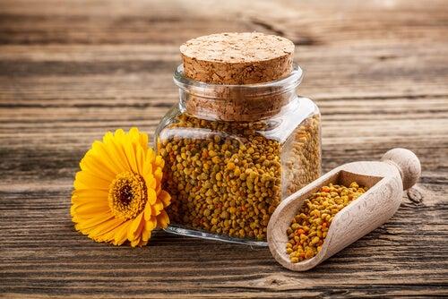 polen para fortalecer el cerebro