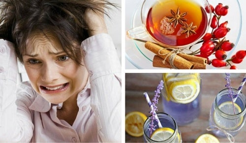 3 bebidas naturales y medicinales para calmar los nervios