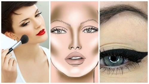 34bcb3ab2 4 trucos fáciles de maquillaje para que tu rostro parezca más delgado