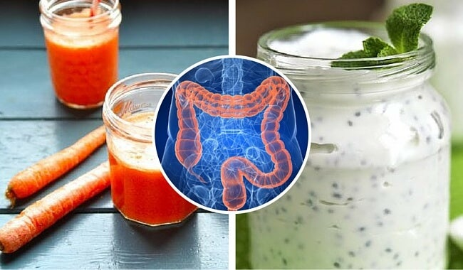 Activa la función del colon con estas bebidas naturales