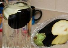 Cómo quemar grasa y controlar el colesterol con agua de berenjena