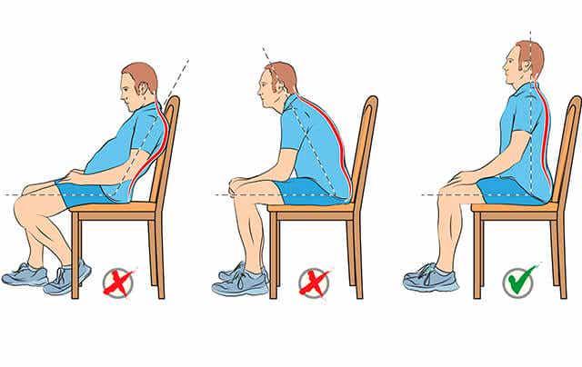 Consejos para sentarse bien y evitar el dolor