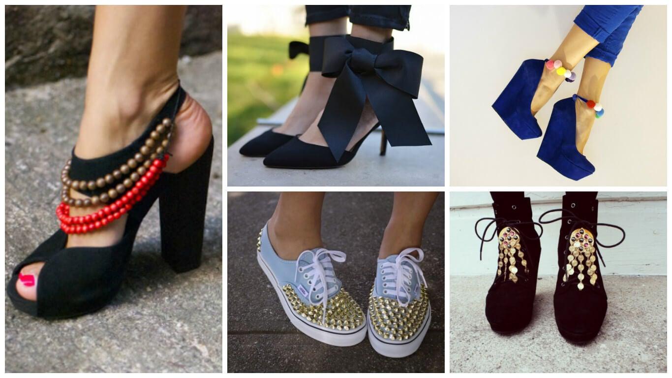 trucos para renovar calzado viejo