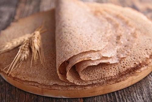 Crêpes de trigo sarraceno