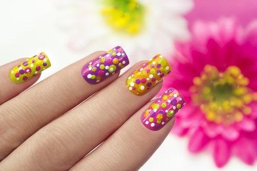 Decoración rápida para las uñas