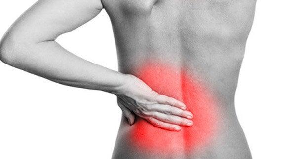 La gelatina del dolor en la espalda