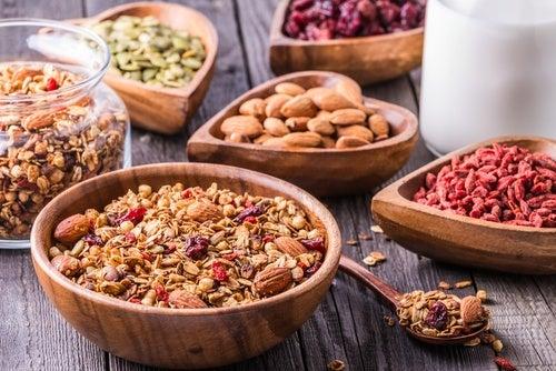 Incrementar los alimentos ricos en fibra