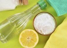 Limpiar recipientes de plastico