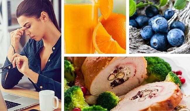 Los 8 mejores alimentos para aliviar los efectos del estrés