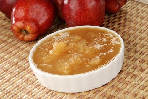 Mascarilla de manzana para piel seca y agrietada