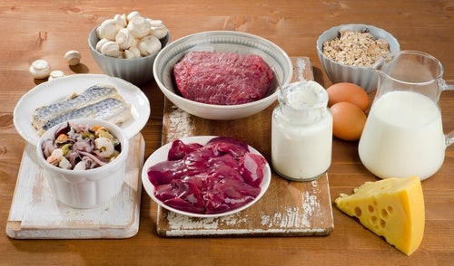 Carne, queso, leche, huevos y pescado son alimentos indicados para aliviar los calambres musculares