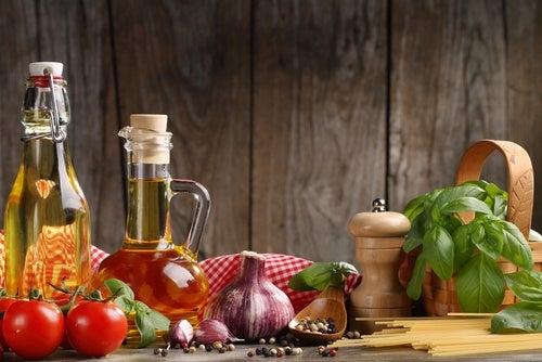 Seguir una dieta mediterránea