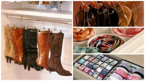 17 interesantes ideas para ordenar tu armario y ganar espacio