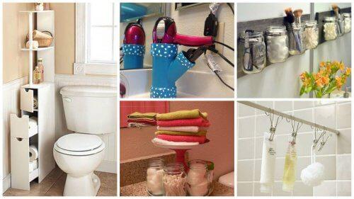 19 tips que te ayudarán a ganar espacio en tu cuarto de baño - Mejor ...