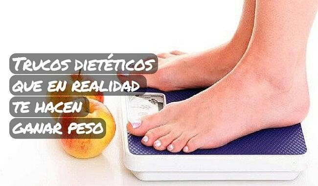 Trucos dietéticos que en realidad te hacen ganar peso