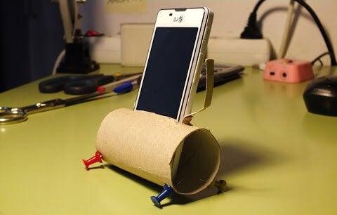 Tubo-papel-amplificador