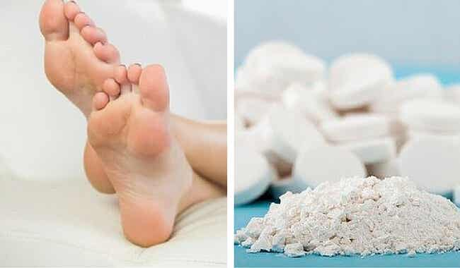 Cómo eliminar las durezas de los pies con aspirinas