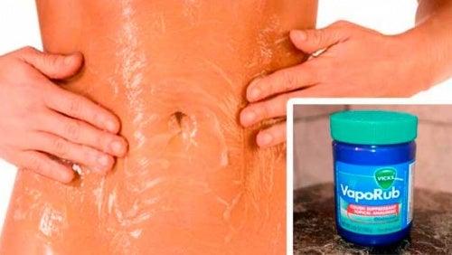 como se usa el vick vaporub para bajar de peso