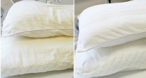 4 formas de lavar y desinfectar las almohadas