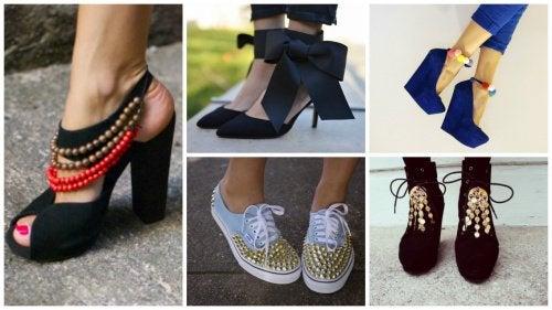 14 curiosas ideas para renovar tu calzado viejo