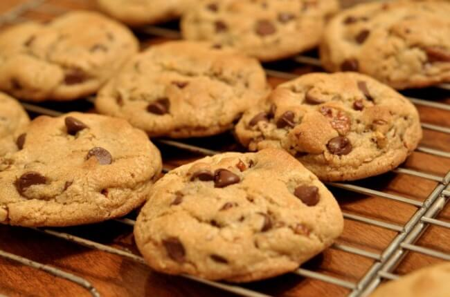 Receta de galletas de mantequilla con pepitas de chocolate