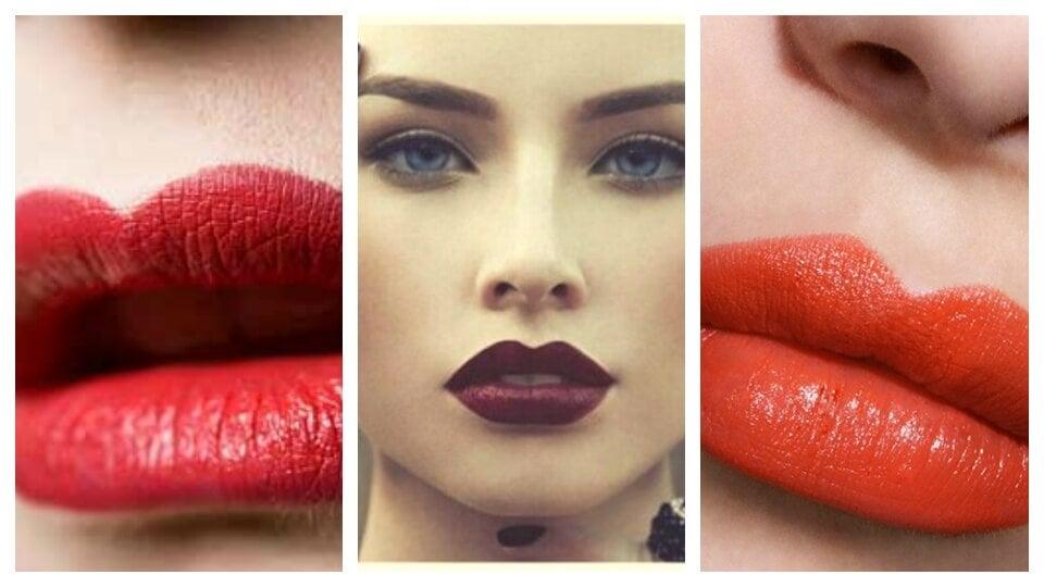 4 formas espectaculares de pintarse los labios