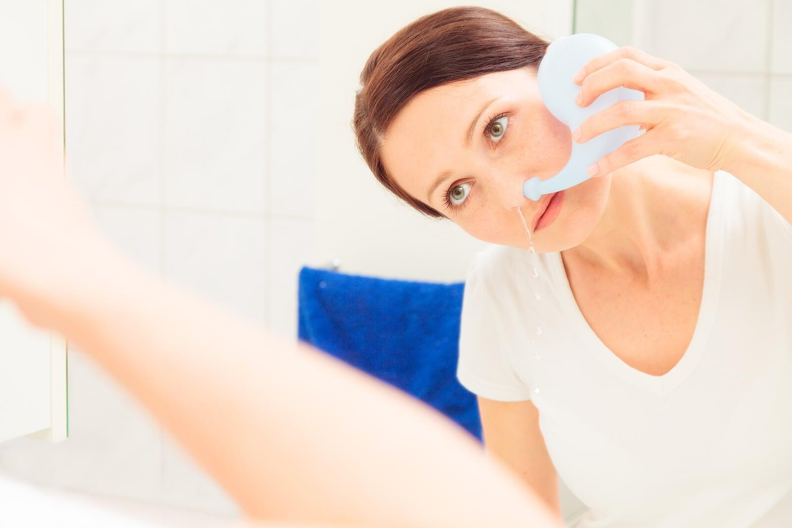 3 trucos para descongestionar la nariz