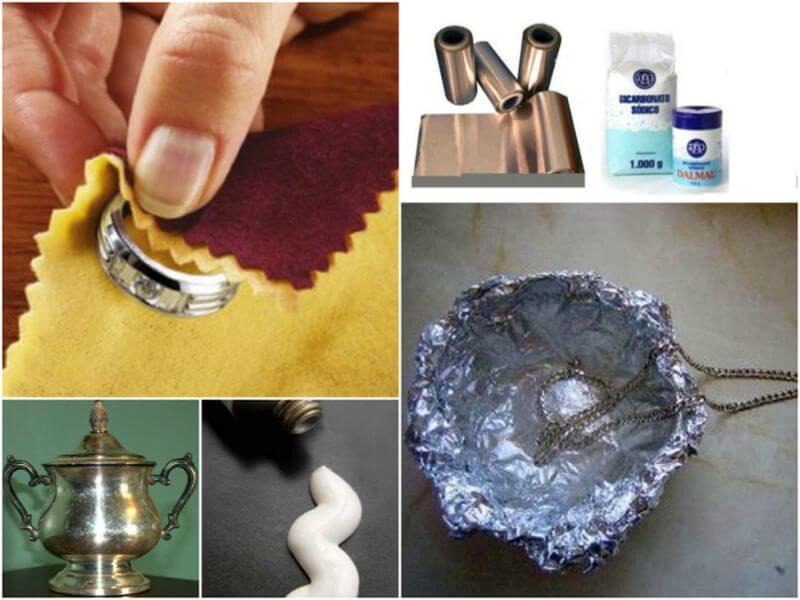 7 trucos eficaces para limpiar la plata en casa