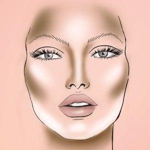 maquillaje rostro delgado