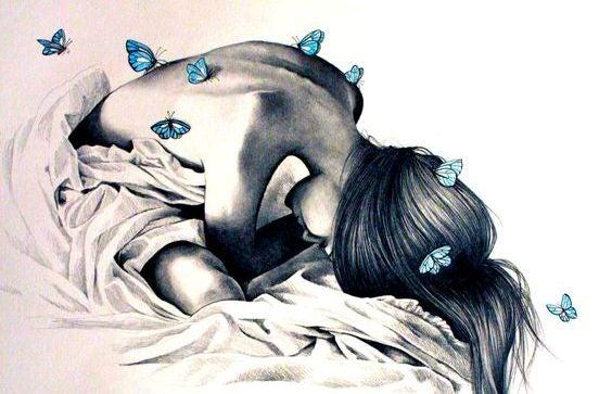 mujer-con-mariposas representando lo que callamos