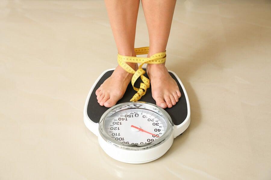 mujer peso